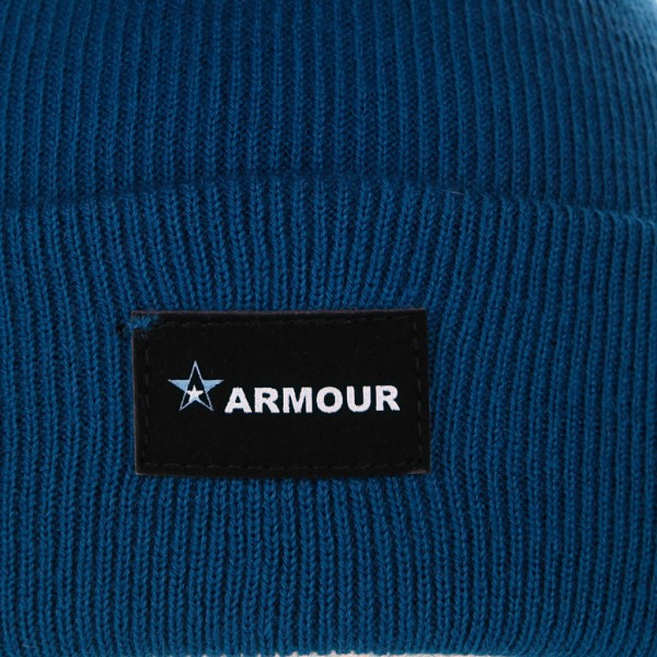 Шапка armour True Beanie Blue, фото номер 3