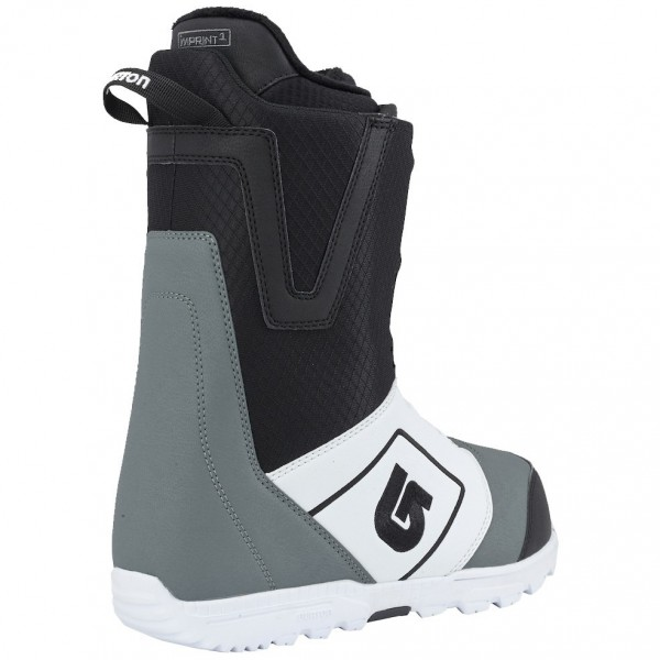 Мужские ботинки BURTON MOTO BOA WHITE/BLACK/GRAY, фото номер 2